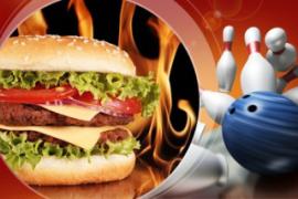 Mittwoch, 16:00 – 22:00 Uhr: Burger Bowling