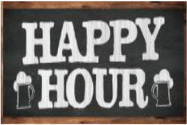 Montag, 16:00 – 18:00 Uhr: Happy Hour