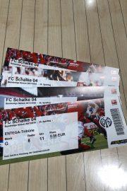 Gewinner unserer kleinen Verlosung 1. FSV Mainz 05 gegen FC Schalke 04